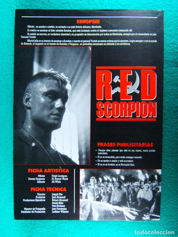 Amazon.com: Red Scorpion: Dolph Lundgren, M. Emmet Walsh