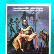 Cinema: LOS RITOS SEXUALES DEL DIABLO-JOSE R LARRAZ-HELGA LINE-ABERRACION Y SEXO-ILUSTRA JANO-4 PAGINAS-1982. Lote 195977066