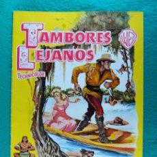 Cine: TAMBORES LEJANOS-DISTANT DRUMS-RAOUL WALSH-GARY COOPER-MARI ALDON-RICHARD WEBB-¡¡¡ 20 PAGINAS -1951.. Lote 196867817