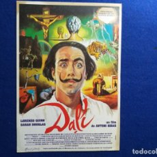 Cine: GUIA: DALI. UN FILM DE ANTONI RIBAS. CON LORENZO QUINN Y SARA DOUGLAS. Lote 196992776