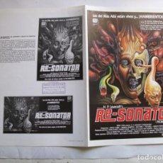 Cinéma: HH3882 RE-SONATOR --- NO ENTRA EN LOTES. Lote 199343798