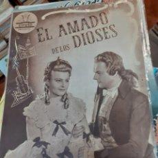Cine: GUIA DE CINE CIFESA, EL AMADO DE LOS DIOSES,AÑOS 40-50. Lote 200353582