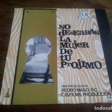 Cinéma: NO DESEARAS LA MUJER DE TU PROJIMO - ARTURO FERNANDEZ, SONIA BRUNO - GUIA ORIGINAL CB FILMS AÑO 1968. Lote 200845282