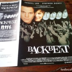 Cinéma: BACKBEAT - STEPHEN DORFF, IAN HART, SHERYL LEE - GUIA ORIGINAL U.I.P AÑO 1994 BEATLES. Lote 201548832