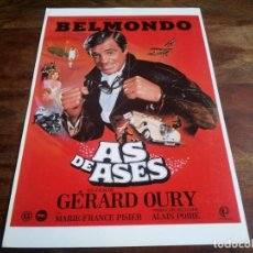 Cinéma: AS DE ASES - JEAN PAUL BELMONDO, MARIA FRANCE PISIER - GUIA ORIGINAL PROCINES AÑO 1982. Lote 201990163