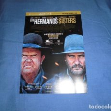 Cinema: LOS HERMANOS SISTERS - GUIA PUBLICITARIA SENCILLA. ORIGINAL DE LA PELÍCULA.. Lote 202071928