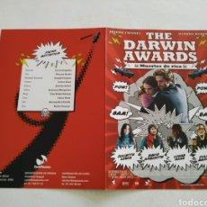 Cine: THE DARWING AWARDS GUIA PUBLICITARIA ORIGINAL DE CINE. Lote 201720805