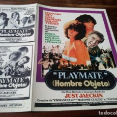 Cinéma: PLAYMATE HOMBRE OBJETO - FERNANDO REY,DAYLE HADDON,GERARD TYBALT - GUIA ORIGINAL AÑO 1978. Lote 202708592