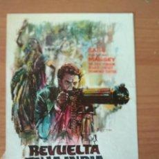 Cinéma: G-5--GUIA DE LA PELICULA--- REVUELTA EN LA INDIA. Lote 203166790