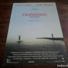 Cine: DESPERTARES - ROBERT DE NIRO, ROBIN WILLIAMS, MAX VON SIDOW - GUIA ORIGINAL COLUMBIA AÑO 1990. Lote 203897845