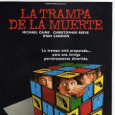Cine: GUIA PELICULA LA TRAMPA DE LA MUERTE CON MICHAEL CAINE. Lote 204155761
