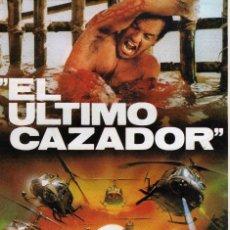 Cine: GUIA PUBLICITARIA DOBLE EL ULTIMO CAZADOR. Lote 204212005