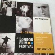 Cine: LONDON FILM FESTIVAL- 1997. Lote 204270592