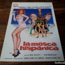 Cinéma: LA MOSCA HISPANICA - NADIUSKA, RAMIRO OLIVEROS - GUIA ORIGINAL IZARO AÑO 1976 - JANO. Lote 204814331