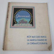 Cinéma: CURIOSO CATÁLOGO DE PELÍCULAS - PARAMOUNT FILMS - CINEMATOGRAFÍA - TEMPORADA 1933-34. Lote 205659828