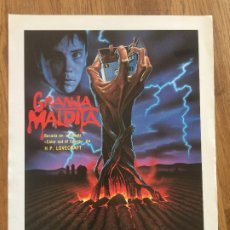 Cine: GRANJA MALDITA - DAVID KEITH - GUIA SIMPLE. Lote 205665332