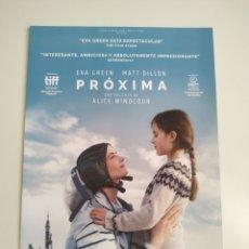 Cine: PROXIMA GUIA PUBLICITARIA ORIGINAL DE CINE. Lote 201720790