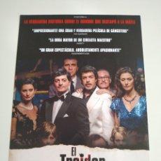 Cine: EL TRAIDOR GUIA PUBLICITARIA ORIGINAL DE CINE. Lote 201720837