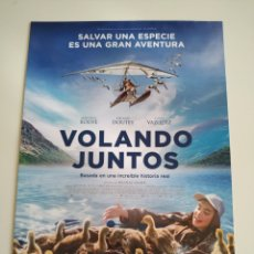 Cine: VOLANDO JUNTOS GUIA PUBLICITARIA ORIGINAL DE CINE. Lote 201720842