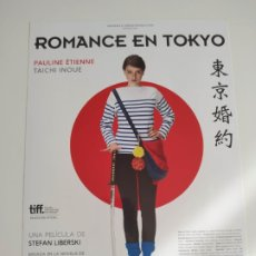 Cine: ROMANCE EN TOKIO GUIA PUBLICITARIA ORIGINAL DE CINE. Lote 201720902