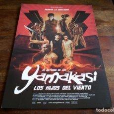 Cine: EL RETORNO DE LOS YAMAKASI LOS HIJOS DEL VIENTO - DIR. JULIEN SERI - GUIA ORIGINAL MANGA FILMS 2004. Lote 206204506
