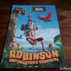 Cine: ROBINSON UNA AVENTURA TROPICAL - ANIMACION - GUIA ORIGINAL VERTICE AÑO 2016. Lote 206205490