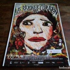 Cine: LAS RAZONES DEL CORAZON - ARCELIA RAMIREZ, VLADIMIR CRUZ, DIR. ARTURO RIPSTEIN - GUIA ORIGINAL WANDA. Lote 206206826