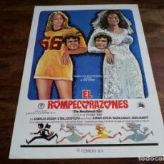 Cine: EL ROMPECORAZONES - CHARLES GRODIN, CYBILL SHEPHERD - GUIA REGIA FILMS AÑO 1973. Lote 206207187