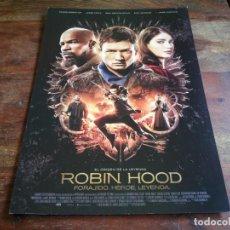 Cine: ROBIN HOOD EL ORIGEN - TARON EGERTON, JAMIE FOXX, JAMIE DORNAN - GUIA ORIGINAL EONE 2018. Lote 206213197