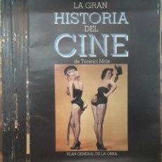 Cine: LA GRAN HISTORIA DEL CINE POR TERINCI MOIX 23 FASCICULOS DISTINTOS. Lote 206216026