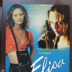 Cine: ELISA - GUIA PUBLICITARIA ORIGINAL - VANESSA PARADISE GERARD DEPARDIEU JEAN BECKER. Lote 206218925