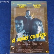 Cine: GUÍA: A SOLAS CONTIGO. CON: EDUARDO CAMPOY, VICTORIA ABRIL, IMANOL ARIAS, JUAN ECHANOVE. Lote 206253306