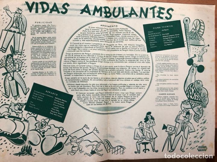 Cine: Guia cepicsa vidas ambulantes.carole landis,adolphe menjou - Foto 2 - 206401343