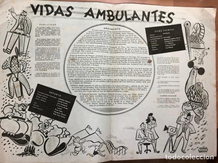 Cine: Guia cepicsa vidas ambulantes.carole landis,adolphe menjou - Foto 2 - 206401407