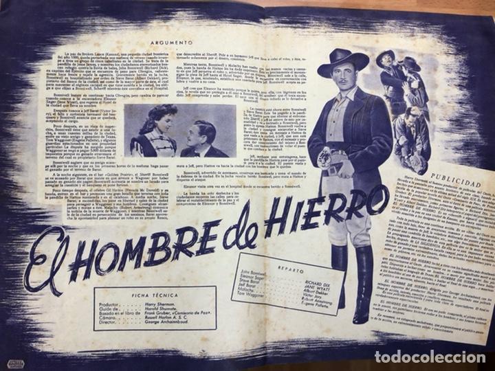 Cine: Guia cepicsa el hombre de hierro.the kansan.Richard Dix,Jane wyatt - Foto 2 - 206401632