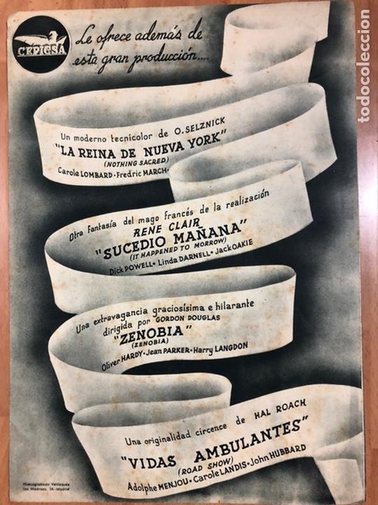 Cine: Guia cepicsa el hombre de hierro.the kansan.Richard Dix,Jane wyatt - Foto 3 - 206401632
