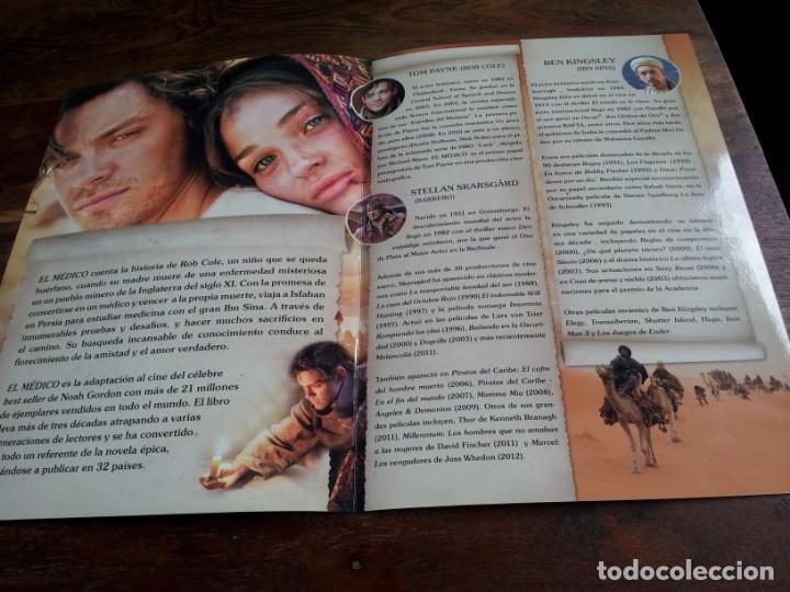 Cine: el medico - tom payne, ben kingley, stellan skarsgard - guia original deaplaneta año 2013 - Foto 2 - 206401911