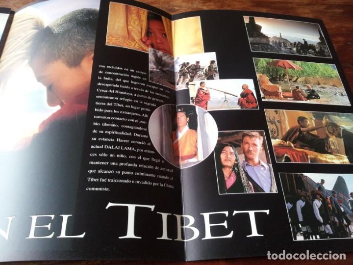 Cine: siete años en el tibet - brad pitt dir. jean-jacques annaud - guia original tripictures año 1997 - Foto 4 - 206402006