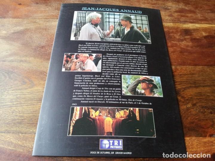 Cine: siete años en el tibet - brad pitt dir. jean-jacques annaud - guia original tripictures año 1997 - Foto 5 - 206402006