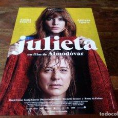 Cinéma: JULIETA - EMMA SUAREZ, ADRIANA UGARTE, DANIEL GRAO, INMA CUESTA - DIR.PEDRO ALMODOVAR - GUIA 2016. Lote 206402477