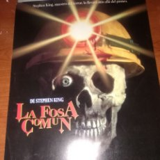 Cine: LA FOSA COMUN-GUIA ORIGINAL SENCILLA-ESTRENO-STEPHEN KING-. Lote 206573021