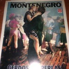 Cine: MONTENEGRO CERDOS O PERLAS GUIA ORIGINAL SENCILLA ESTRENO-SUSAN ANSPACH-. Lote 206573197