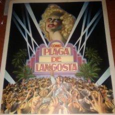 Cine: COMO PLAGA DE LANGOSTA-GUIA ORIGINAL DOBLE ESTRENO-DONALD SUTHERLAND-. Lote 206573392