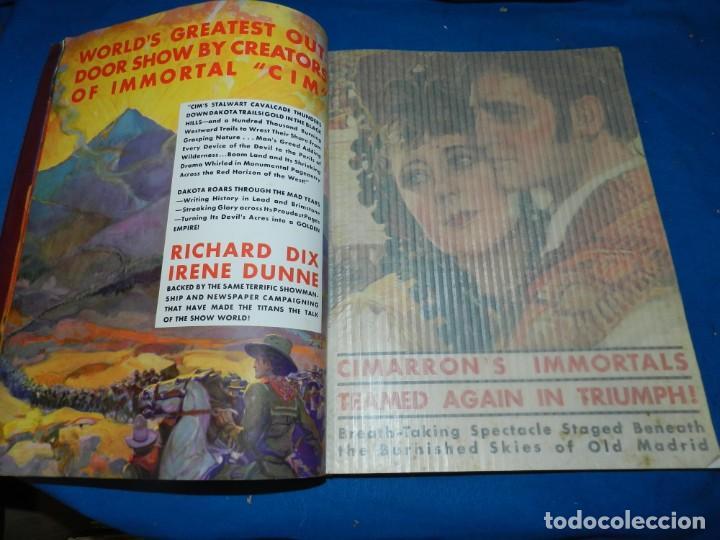 Cine: (M) GUIA PUBLICITARIA DE CINE - RKO-RADIO PICTURES 1931 - 32 - ESPECTACULAR GUIA PUBLICITARIA - Foto 13 - 180396878