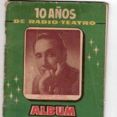 Cine: 10 AÑOS DE RADIO-TEATRO. RADIO BARCELONA. Lote 206997958