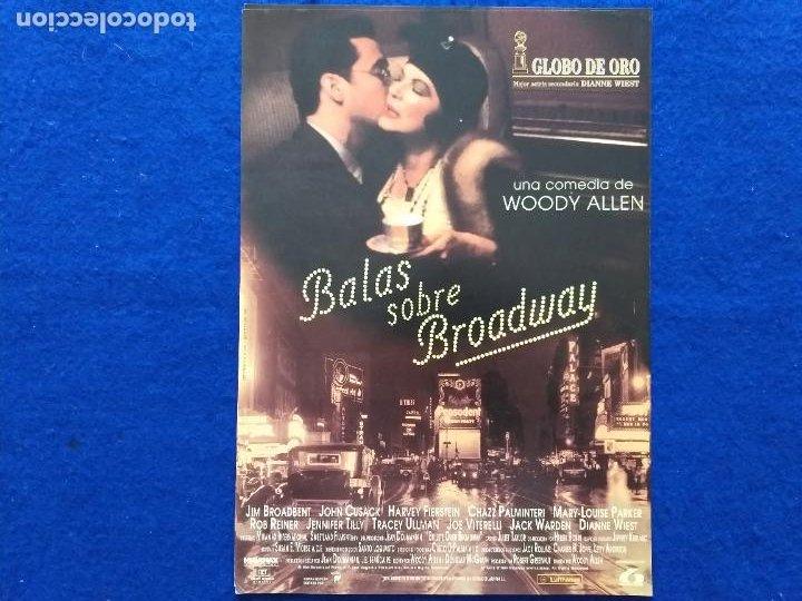 GUIA: BALAS SOBRE BROADWAY. CON: WOODY ALLEN JOHN CUSACK (Cine - Guías Publicitarias de Películas )