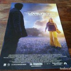 Cine: THE LOVELY BONES - SAOIRSE RONAN, STANLEY TUCCI - DIR.PETER JACKSON - GUIA ORIGINAL PARAMOUNT 2009. Lote 207033217