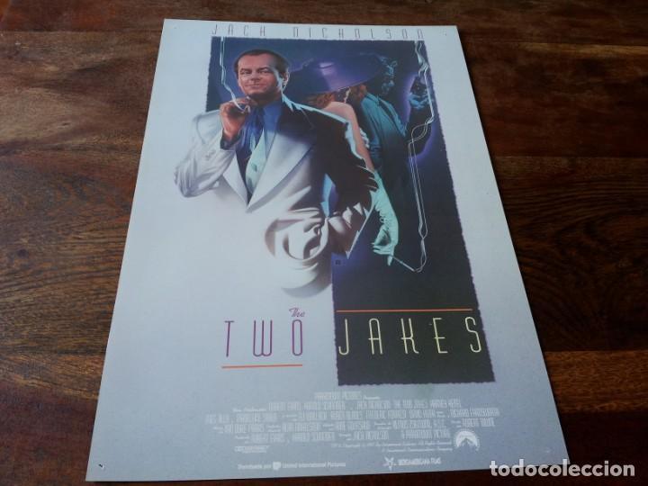 THE TWO JAKES - HARVEY KEITEL, JACK NICHOLSON,MEG TILLY, ELI WALLACH - GUIA ORIGINAL U.I.P AÑO 1990 (Cine - Guías Publicitarias de Películas )
