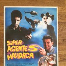 Cinéma: SUPER AGENTE S EN MALLORCA - MARTA VALVERDE / LORETO VALVERDE - GUIA DOBLE. Lote 207071486
