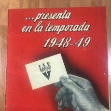 Cine: GUIA RKO TEMPORADA 1948.ENCADENADOS ALFRED HITCHCOCK INGRID BERGMAN CARY GRANT.JOHN WAYNE.... Lote 207126081